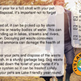 Lake Friendly Tips October