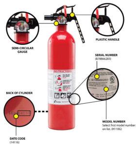 recalled fire extinguishers