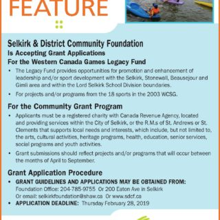 SDCF Call for Grants - Spring 2019